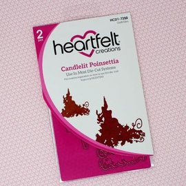 Heartfelt Creations Candlelit Poinsettia Die