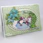 Heartfelt Creations Deluxe Flower Shaping Paper - White (5st.)