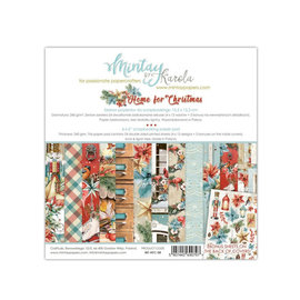 Mintay Mintay Papers - Home for Christmas - 6x6