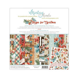 Mintay Mintay Papers - Home for Christmas - 15x15