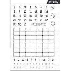 ModaScrap ModaScrap - Clear Stamp - A5 - Calendar