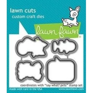 Lawn Fawn Lawn Fawn Say What? Pets Dies