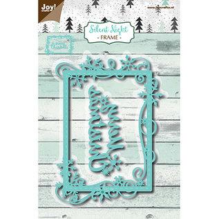 Joy! crafts Silent Night - Frame Merry Christmas