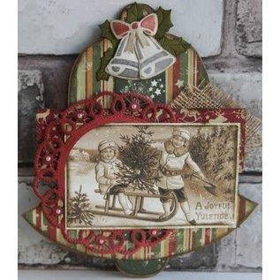 Dutch Doobadoo Shape Art Christmas bell