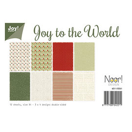 Joy! crafts Joy to the World (kerst)