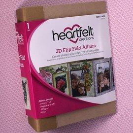 Heartfelt Creations 3D Flip Fold Album - Kraft