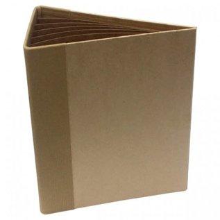 3D Flip Fold Album - Kraft