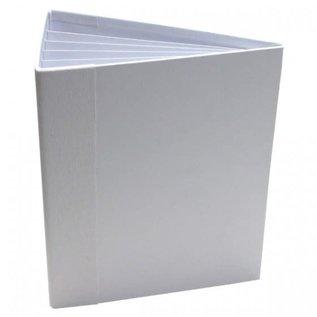 3D Flip Fold Album - White