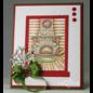 Heartfelt Creations Winter's Eve Cling Stamp Set