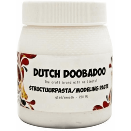 Dutch Doobadoo Structuur pasta glad