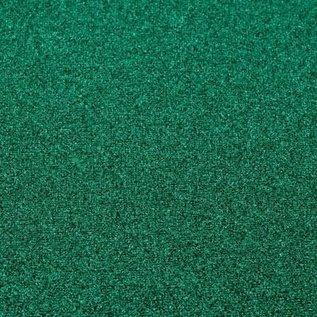 Vaessen Florence - Glitter papier Zelfklevend  Aqua Green 30.5x30.5 cm