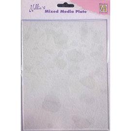 Nellie's choice Mixed media plates  A5