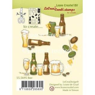 LeCrea LeCrea - combi clear stamp Bier