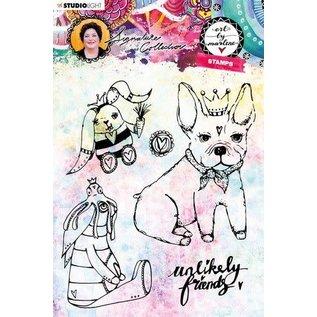Studio Light Studio light Clear Stamp Art By Marlene 4.0 nr 40