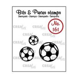 CreaLies Crealies • Bits & Pieces stempel no.161 voetballen