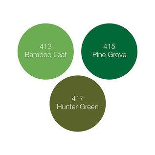 Tonic Studios Nuvo alcohol marker pen x3 - woodland greens