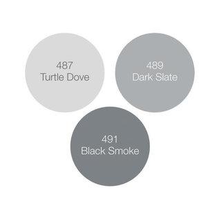 Tonic Studios Nuvo alcohol marker pen x3 - stormy greys