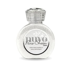 Nuvo Nuvo Pure Sheen Glitter ice white