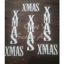Cart 'n Scrap Art n° 37. X-MAS - 2 x 3 stuks