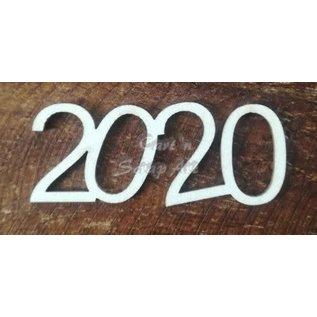 """Cart 'n Scrap Art n° 01. """"2020"""" 6 stuks"""