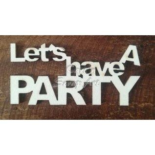 """Cart 'n Scrap Art n° 11. """"Let's have a party"""" 5 stuks"""