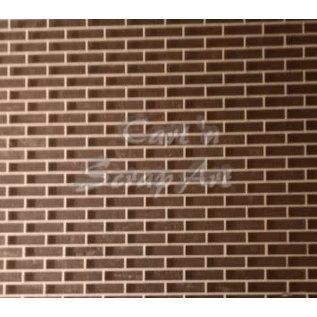 Cart 'n Scrap Art n° A 03. bakstenen muur