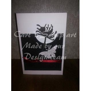 Cart 'n Scrap Art n° 49. Bloemen - 6 Stuks