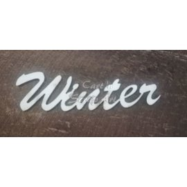 "Cart 'n Scrap Art n° 62. ""winter"" 6 stuks"