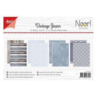 Joy! crafts Noor - Design Vintage Jeans