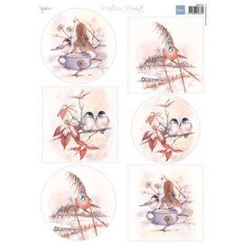 Decoupage Mattie's mooiste birds 1 vel
