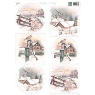 Decoupage Mattie's mooiste winter 1 vel