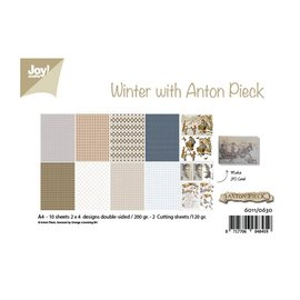 Joy! crafts Papierset A4 10 vel Anton Pieck design winter