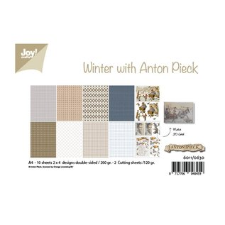 Joy! crafts Papierset A4 10 vel Anton Pieck design winter