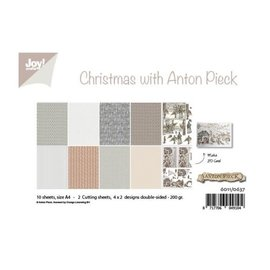 Joy! crafts Papierset A4 10 vel Anton Pieck design Christmas