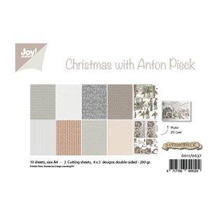 Joy! crafts Papierset A4 10 vel Anton Pieck design Christmas