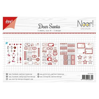 Joy! crafts Knipvellen A4 Noor dear santa
