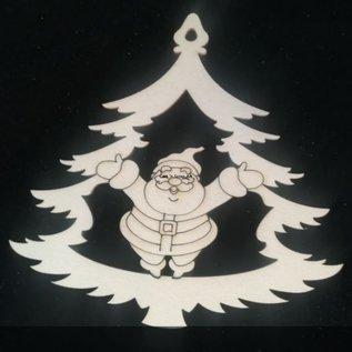 Cart 'n Scrap Art n° 04 Sneeuwman in kerstboom