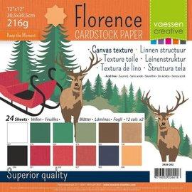 Vaessen Florence • Cardstock multipack 30,5x30,5cm Kerst