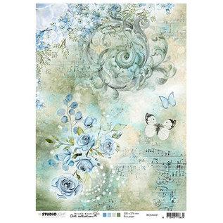 Studio Light Rice Paper, Jenine 01
