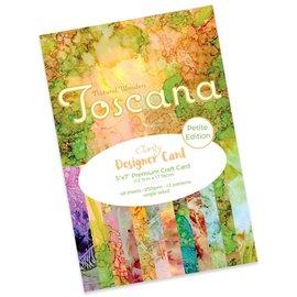 "TOSCANA DESIGNER CARD PACK 5"" X 7"" - PETITE EDITION"