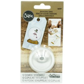 Sizzix Sizzix Dimensional Domes 12/Pkg Inspired By Tim Holtz