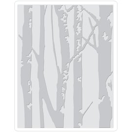 Sizzix Sizzix 3D Birch Trees Texture Fades Embossing Folder By Tim Holtz