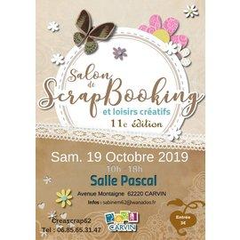 Scrapbooking salon in Carvin (FR) op Zaterdag 19/10