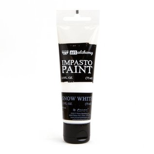 PRIMA MARKETING Art Alchemy Impasto Paint Snow White