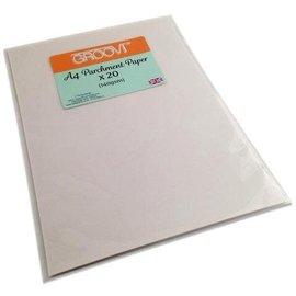 Groovi Groovi Parchment Paper A4 20 Sheets