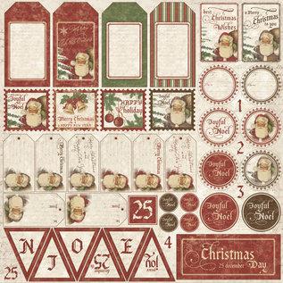 "Maja Design Maja ""It's Christmas Time"" Die Cut Sheet"