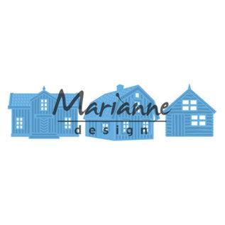 Scandinavian houses (set of 3)