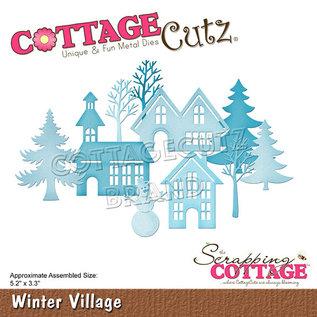Cottage Cutz Scrapping Cottage Winter Village