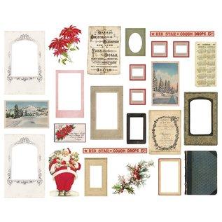 Tim Holtz Idea-ology Tim Holtz Layers & Baseboard Frames Christmas (25pcs)