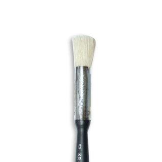 stamperia Stamperia Oblique Head Brush No. 0 Met koordje